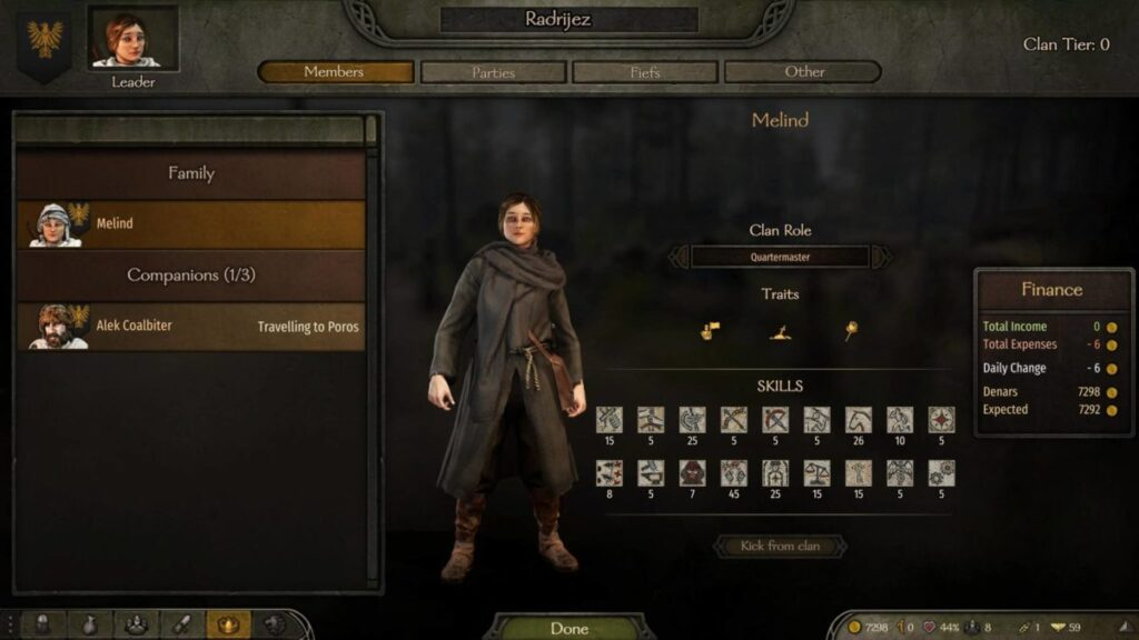 Bannerlord guide increase party size Screenshots