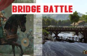 Bridge Battle Best mounted archery MB2 Bannerlord Bridge Battle | Best mounted archery