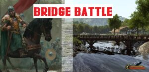 Bridge Battle Best mounted archery MB2 Bannerlord Bridge Battle | Best mounted archery
