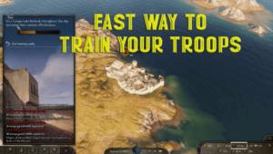 Training Field 1 اسرع طريقة لترقية جنودك
