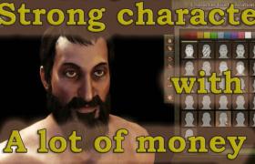 Start the game with a strong character and a lot of money بداية اللعبة مع شخصية قوية والكثير من المال