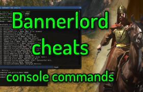 bannerlord cheats 1 طريقة الغش بلعبة Bannerlord